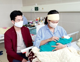 5 công dân nhí chào đời trong bệnh viện cách ly