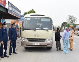 Ninh Bình: Lập 5 chốt kiểm tra xe khách để phòng chống dịch Covid-19