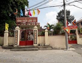 Công an TPHCM điều tra vụ trộm tranh quý hiếm tại đình Linh Tây