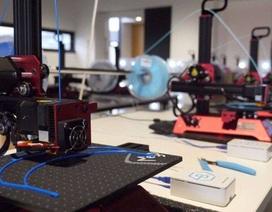 Covid-19: Ứng dụng máy in 3D sản xuất thiết bị bảo hộ cho đội ngũ y, bác sĩ
