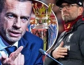 Chủ tịch UEFA ủng hộ Liverpool vô địch Premier League