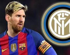 Inter Milan thể hiện quyết tâm chiêu mộ Lionel Messi