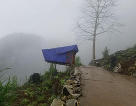 Độc đáo phòng học online bên sườn núi của Lầu Mí Xá