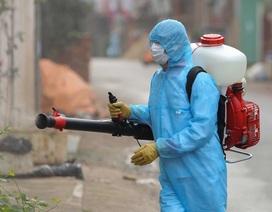 Hà Nội: Đề xuất Bộ Tư lệnh hóa học khử khuẩn toàn bộ thôn Hạ Lôi