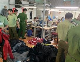 Hà Nội: Nữ chủ xưởng làm giả quần áo hàng hiệu trị giá 10 tỷ đồng