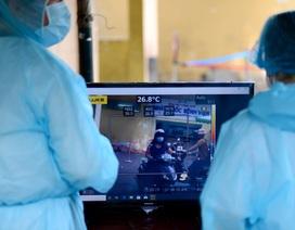 TPHCM: Bệnh viện đầu tiên dùng máy quét đo thân nhiệt ở khoảng cách 5m