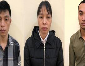 Hà Nội: Bắt nhóm nhân viên trộm hàng của công ty đem bán