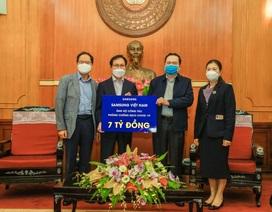 Samsung Việt Nam ủng hộ 10 tỷ đồng chung tay phòng chống dịch COVID-19