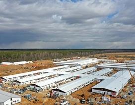 Bên trong bệnh viện Covid-19 mới trị giá 92 triệu bảng của Nga mới xây dựng
