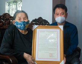 Mẹ của 3 liệt sĩdành tiền trợ cấp chung tay phòng chống đại dịch