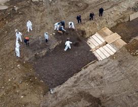 Đảo ở New York biến thành nghĩa trang tập thể giữa dịch Covid-19