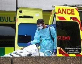 Số người chết vì Covid-19 ở Anh tăng kỷ lục