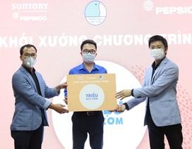 """Pepsico cùng Hội liên hiệp Thanh niên Việt Nam trao """"Triệu Bữa Cơm"""" mùa Covid 19"""