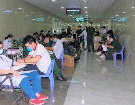 Toàn Bệnh viện Dã chiến tham gia hiến máu tình nguyện