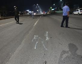 """Cảnh sát cơ động bị """"quái xế"""" tông trọng thương khi ngăn chặn đua xe"""