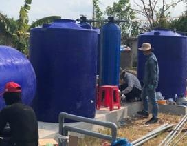 Thêm một điểm cấp nước ngọt miễn phí ở tỉnh Cà Mau
