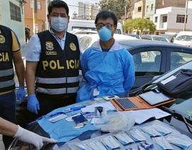 Peru bắt công dân Trung Quốc đánh cắp lô bộ xét nghiệm Covid-19 của Bộ Y tế
