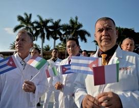 Cuba cử nhóm bác sĩ thứ hai giúp Italia chống dịch