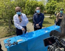 """Trung Quốc mở cửa """"Vùng số 0"""" ở Vũ Hán cho phóng viên"""
