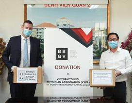 Hiệp hội Doanh nghiệp Anh trao tặng 500 triệu đồng cho Việt Nam