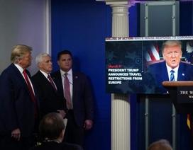 """Ông Trump bị chỉ trích vì """"lồng ghép"""" tranh cử vào họp báo Covid-19"""