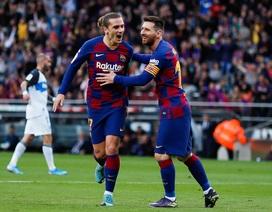 """Sau Rakitic, Barcelona sẵn sàng """"tống cổ"""" Griezmann"""