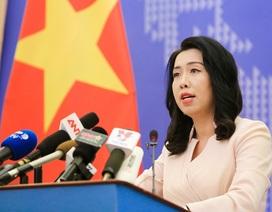 Bộ Ngoại giao lên tiếng về thông tin tàu Trung Quốc vào EEZ của Việt Nam