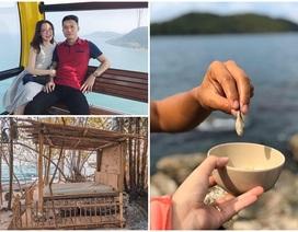 """14 ngày """"trăng mật"""" trên đảo hoang sơ của cặp vợ chồng Hà Tĩnh"""