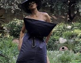 Halle Berry theo trào lưu biến gối thành váy