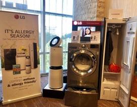 LG tăng trưởng mạnh với các sản phẩm gia dụng có thể chống khuẩn