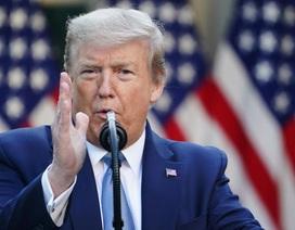 Tranh cãi việc séc cứu trợ hàng chục triệu người Mỹ in tên ông Trump