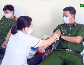 1.000 chiến sĩ Công an tỉnh Phú Yên đăng ký hiến máu tình nguyện