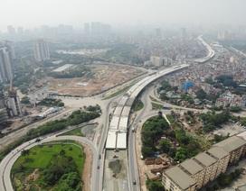 Hà Nội: Cầu cạn hơn 5000 tỷ gấp rút hoàn thành giữa mùa dịch Covid-19