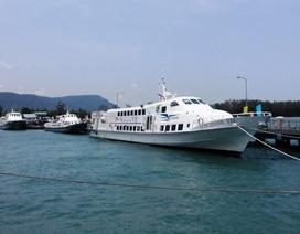 Tàu chở du khách ra Phú Quốc được phép hoạt động trở lại