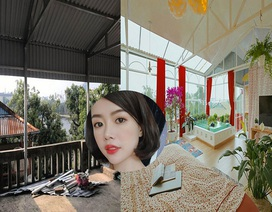 Cô gái 9x Hà Nội biến tầng thượng thành không gian nghỉ dưỡng cực đẹp