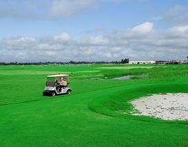 Xử phạt sân golf mở cửa giữa mùa dịch