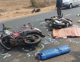 Va chạm xe máy, ba người thương vong