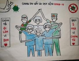 Học sinh Hà Tĩnh chế bài hát cổ động chống dịch Covid-19