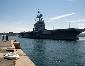 Hơn 1.000 thủy thủ trên tàu sân bay Pháp mắc Covid-19