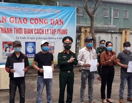 Nghệ An: Những công dân cuối cùng rời khu cách ly tập trung