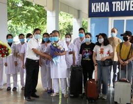 Ninh Bình thêm 8 bệnh nhân Covid-19 được xuất viện