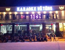 """10 thanh niên vào quán karaoke """"đập đá"""" giữa mùa dịch Covid-19"""