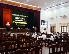Quảng Trị lần đầu tiên tổ chức họp HĐND trực tuyến