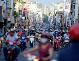 Đường phố Sài Gòn trở lại cảnh đông nghịt quen thuộc