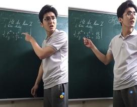 """Thầy giáo khó tính nhưng đẹp trai như tài tử điện ảnh gây """"sốt"""""""