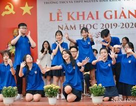 Thầy và trò THPT Nguyễn Bỉnh Khiêm - Cầu Giấy làm MV nhớ trường nhớ lớp