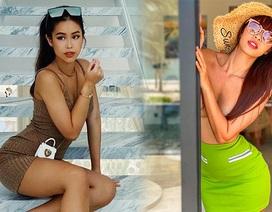 """""""Nóng bỏng mắt"""" với thời trang nghỉ dưỡng mùa cách ly của mỹ nhân Việt"""