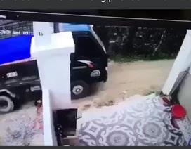Nghi án tài xế xe tải lùi xe cán chết cháu bé hơn 1 tuổi rồi phi tang xác