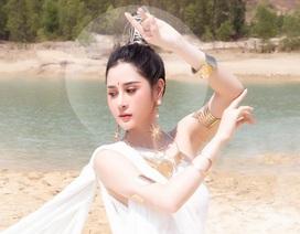 Người đẹp Triệu Hà Vy đẹp thoát tục trong bộ ảnh hóa thân nữ thần