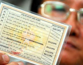 Đề xuất tính điểm trên giấy phép lái xe